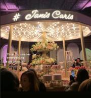 婚宴會場的氣氛非常浪漫﹗(網上圖片)
