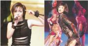 張惠妹和周迅分別於2001年及2005年擔任台慶表演嘉賓。(資料圖片/明報製圖)