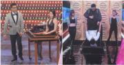 陳展鵬、胡杏兒及陳豪分別表演奇幻魔術。(資料圖片/明報製圖)