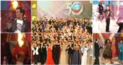無綫昔日台慶節目曾有不少巨星紅星參與,令人留下深刻印象。(資料圖片/無綫電視網上視頻截圖/明報製圖)