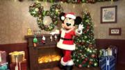 【A Disney Christmas@香港迪士尼】米奇穿上聖誕裝。(黃詠賢攝)