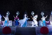 【A Disney Christmas@香港迪士尼】魔雪奇緣飄雪時刻(圖片由相關機構提供)
