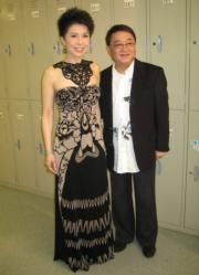 黎小田與關菊英離婚後再見亦是朋友。(資料圖片)