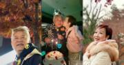 【飲香檳賞紅葉】陳百祥69歲生日 黃杏秀甜贈香吻