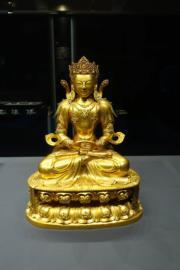 香港藝術館「公私兩全──中國文物館藏與捐贈」展覽展品(何芍盈攝)