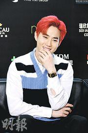 EXO隊長Suho無偶像包袱 想演奸角不抗拒裸露