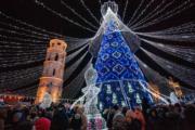 【世界各地迎聖誕2019】立陶宛維爾紐斯(Vilnius)聖誕燈飾(法新社)