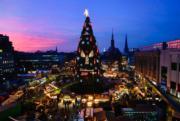 【世界各地迎聖誕2019】 德國西部多蒙特聖誕市集(法新社)