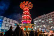 【世界各地迎聖誕2019】德國柏林的聖誕市集(法新社)