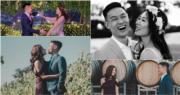 Robynn & Kendy成員Robynn(葉晴晴)今年1月與未婚夫Jonathan Tam,在澳洲墨爾本的大草地上舉行婚禮。(葉晴晴Instagram圖片 / 明報製圖)