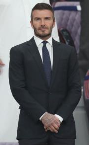 【全球百大俊男2019】第20位:英國「萬人迷」碧咸(David Beckham)(法新社)