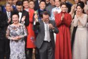 劉丹獲頒「萬千光輝演藝人大獎」,是他入行多年在無綫的第一個獎,難怪他激動落淚。(娛樂組攝)