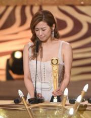 趙希洛從影12年首獲提名便一擊即中,難免感觸又激動。(娛樂組攝)