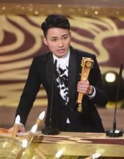周嘉洛憑「金城安」一角獲最佳男配角獎。(娛樂組攝)
