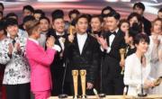 馬國明成為當晚頒獎禮焦點之一。(娛樂組攝)