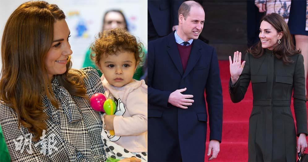 凱特探訪抱B共舞顯母愛 分享路易小王子近況