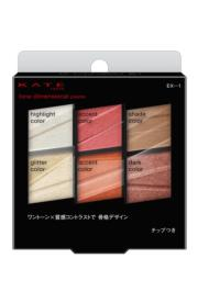 KATE Tokyo同調六色眼彩盤 立體One Tone時尚