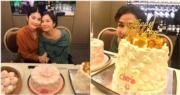 【登「六」】鍾楚紅又有慶生飯局 孖陳慧琳切蛋糕