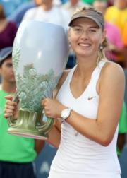 舒拉寶娃2011年贏得辛辛那堤賽冠軍。(法新社資料圖片)