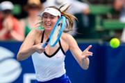 2020年1月,舒拉寶娃最後一次參加澳洲網球公開賽。(法新社資料圖片)