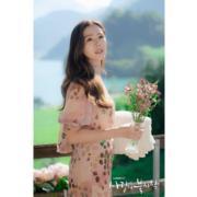 孫藝珍在最後一集的幸福女人造型,令人難忘。(tvN/Netflix劇照)
