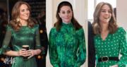 凱特訪愛爾蘭7造型逐個睇!3條綠裙穿出不同風格