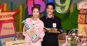 【各自錄影】黎諾懿陳敏之跨界做兒童節目 教烹飪整勞作