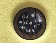 吉卜力美術館的「煤炭屎鬼」(黃廷希攝,圖片攝於2017年4月)