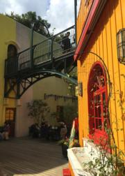 吉卜力美術館設有餐廳,遊人可品嘗特色美食。(黃廷希攝,圖片攝於2017年4月)