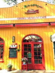 吉卜力美術館的咖啡店(黃廷希攝,圖片攝於2017年4月)
