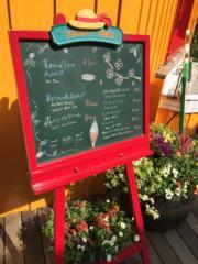 軟雪糕售400日圓(約28港元)。(黃廷希攝,圖片攝於2017年4月)