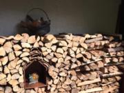 木頭沒有固定或黏牢,大家拍照時記得「眼看手勿動」。(黃廷希攝,圖片攝於2017年4月)