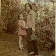 那些年的伍詠薇和伍媽媽。(ig圖片)