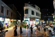 【世界文化遺產——中國】夜幕降臨鼓浪嶼街頭(中新社)