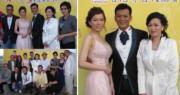 黃日華與梁潔華慶祝銀婚紀念,舉行慈善派對為香港導盲犬協會籌款。(資料圖片/明報製圖)