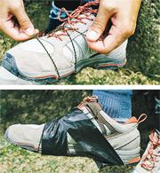 小意外:繩子膠帶解救「甩底」