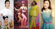 汪明荃入行至今54年,每次登場都展現其時尚魅力。(Ig圖片/資料圖片/明報製圖)