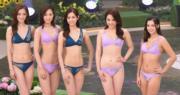 陳楨怡(左起)、何孟珊、郭柏妍、鄺美璇及謝嘉怡進入最後五強。(鍾偉茵攝)