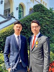 王賢誌與同性伴侶可合併報稅感喜悅