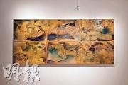 感受自由的生命力  木板上畫出香港陰晴