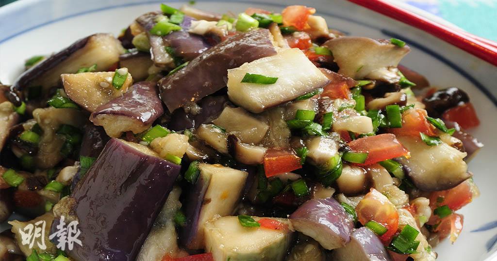 茄子‧營養師食譜|涼拌茄子 開胃美味