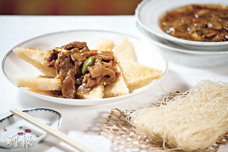 煎煮燜炒 先煠至七成熟 米粉要「打」!軟滑爽口絕招