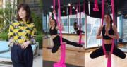 51歲張可頤曾玩空中瑜伽。(資料圖片/網上圖片)