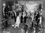 英女王於1947年11月20日在西敏寺完婚。(The Royal Family網站圖片)