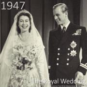 1947年11月20日,英女王(時為伊利沙伯公主)與菲臘王子結婚。(The Royal Family YouTube短片截圖)