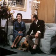 1976年,英女王與王夫菲臘親王(The Royal Family YouTube短片截圖)