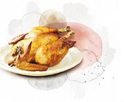 家常便飯:皮肉間抹油 脆皮烤雞 鮮香滿溢
