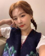 【全球百大美女2019】第27位:韓國女團Red Velvet成員Seulgi(hi_sseulgi Instagram圖片)