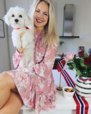 【全球百大美女2020】第5位:挪威模特兒Emilie Nereng(emilienutrition Instagram圖片)