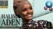 【全球百大美女2020】第7位:模特兒Halima Aden(TC Candler YouTube影片截圖)